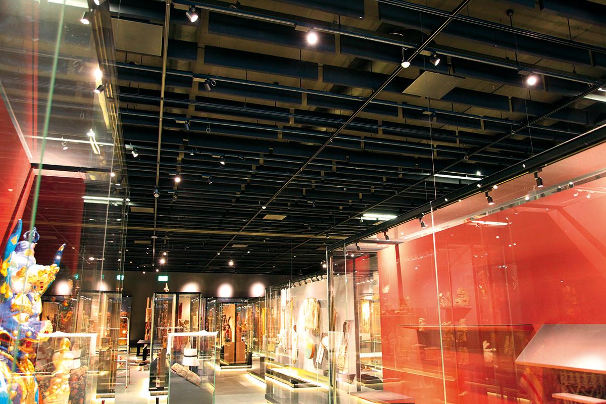 Ethnologogisches Museum Genf - Raumakustik